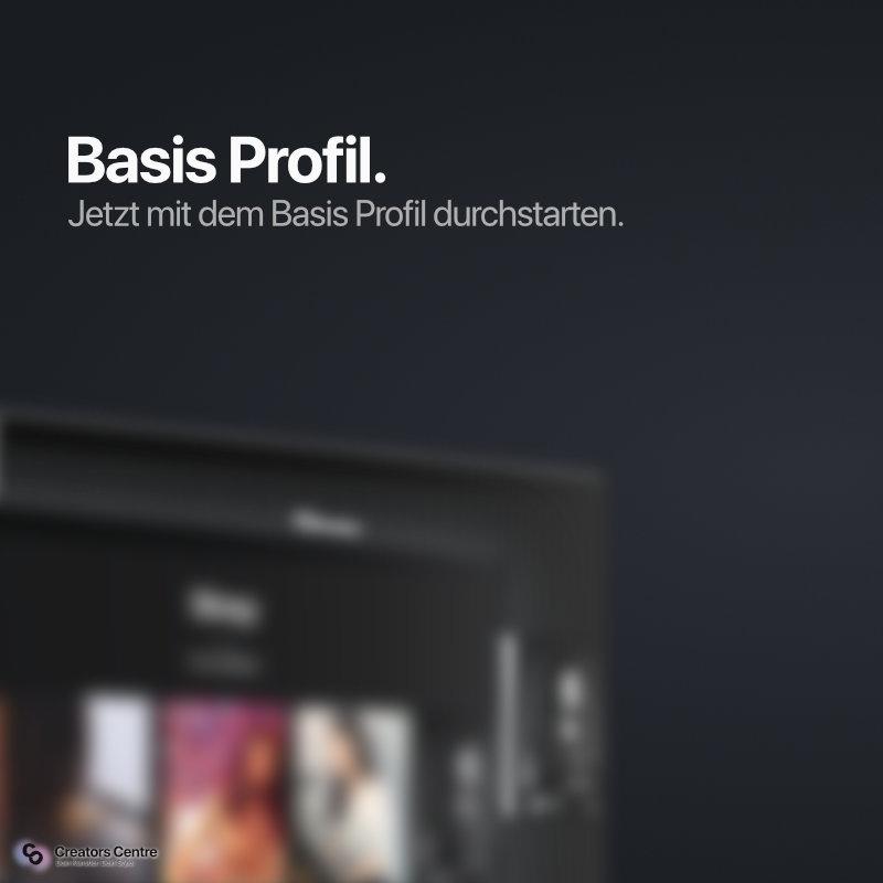 Basis Profil   Profil buchen