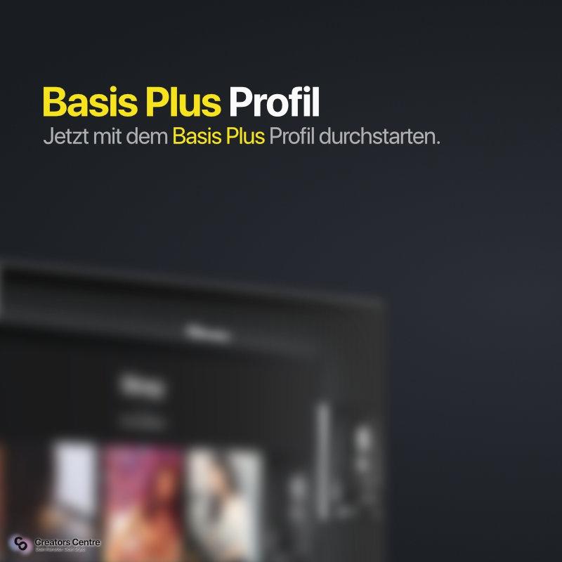 Basis Plus Profil | Profil buchen